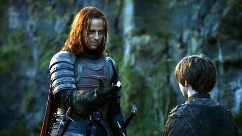 jaqen hghar y arya1 Catching Up With A Game of Thrones
