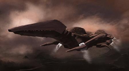 interstellar_pterodactyl_dropship_by_christoumanian