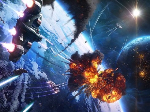 earth-space-battle