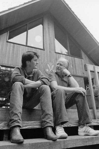Kyle-MacLachlan-and-Frank-Herbert