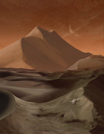campo-dunas-titan-y-sonda-AVIATR-by-MCarroll-NASA