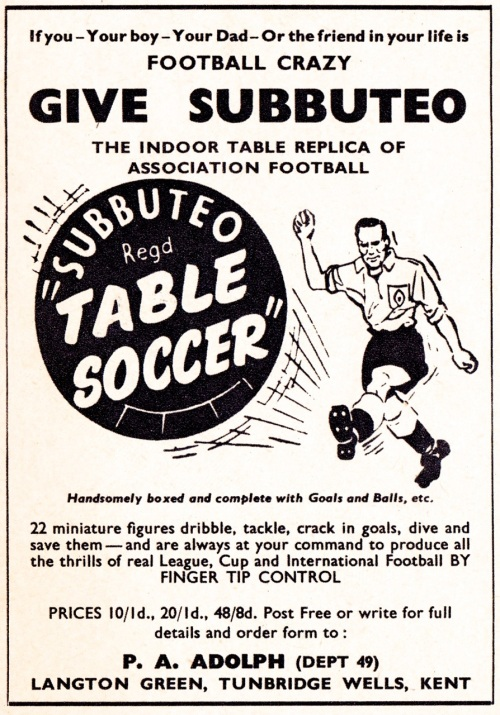 subbuteo-1958-football-crazy